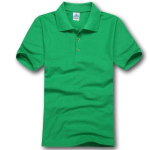 180TBJ高品质180克CVC珠地棉polo衫