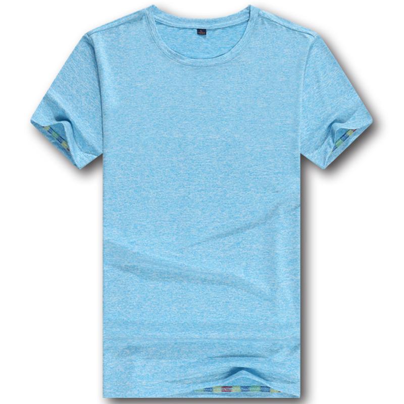 HP81403高品质炫彩冰丝男女短袖圆领t恤